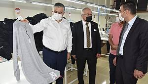 Rektör Namık Ak, Belediye Başkanı Kalaycı İle Ongun A.Ş.'Yi Ziyaret Etti