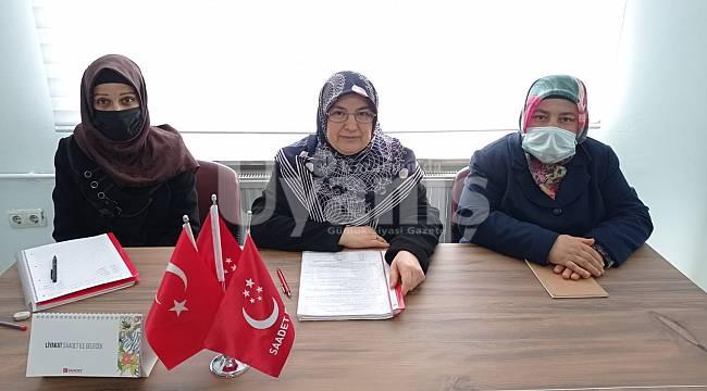 SP Kadın Kolları Başkanı Şahin: