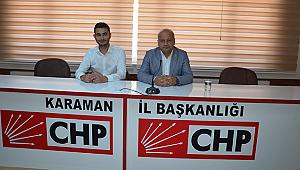 """CHP İl Başkanı Kağnıcı; """"Ekonomik kriz buhrana dönüştü"""""""