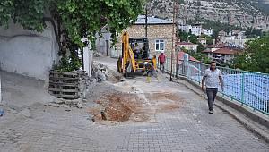 Ermenek'te Su Ve Kanalizasyon Hattı Yenileniyor