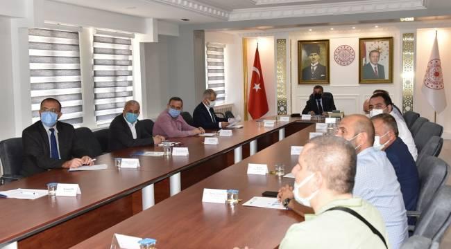 İl İstihdam ve Mesleki Eğitim Kurulu Vali Işık Başkanlığında Toplandı