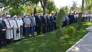 Karaman'da Garnizon ve Polis şehitliği ziyaret edildi