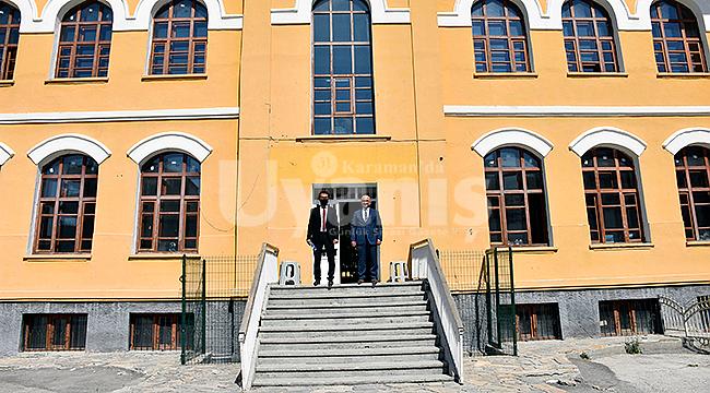 Karaman'da tarihi binada iki proje hayata geçiyor