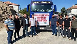 Karaman'dan Manavgat'a Saman ve Yonca Gönderildi
