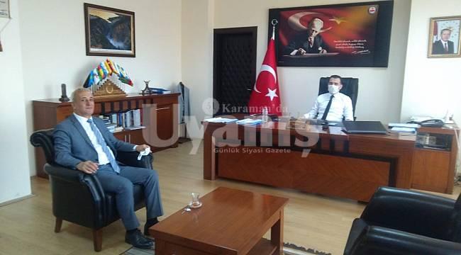 Karaman Ticaret İl Müdürü Adem Özcan'dan Taşeli Bölgesine Ziyaret