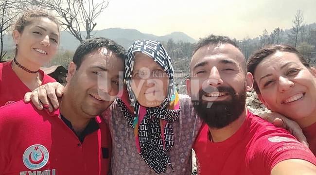 Karaman UMKE ekibi Manavgat'ta hem yaralara hem de gönüllere şifa oluyor