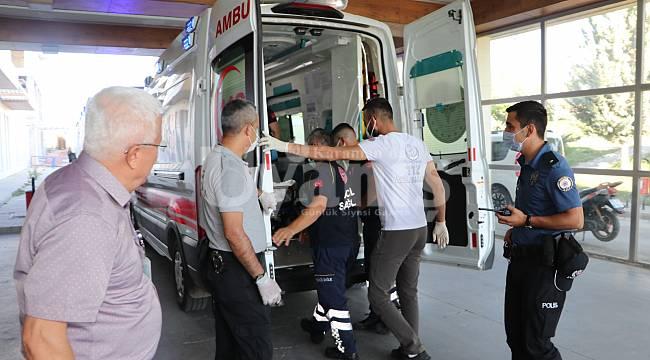 Kayınbiraderini Tabanca ile yaralayan şahıs Gözaltına Alındı