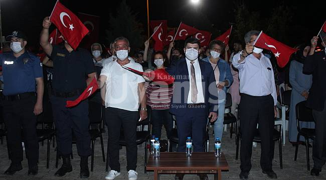 Kazımkarabekir'de 15 Temmuz Demokrasi Zaferi Ve Milli Birlik Günü İlçemizde Coşkuyla Kutlandı