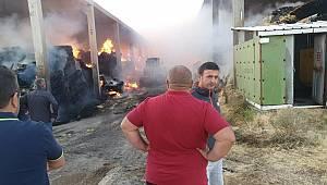 Kazımkarabekir İlçesinde Fabrikada Çıkan Yangın Korkuttu