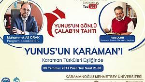 KMÜ Youtube Canlı Yayınının Bu Haftaki Konuğu Rıza Duru