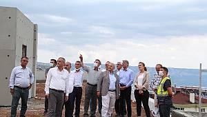 Kültür ve Turizm Bakan Yardımcısı Alpaslan Kazancı'da incelemelerde bulundu