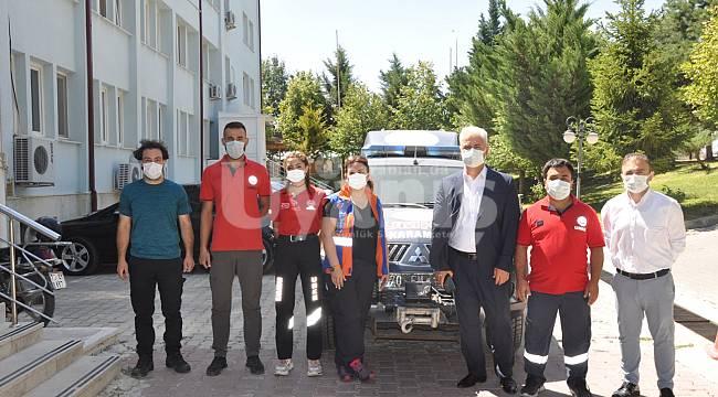 Manavgat'taki yangına Karaman'dan UMKE desteği