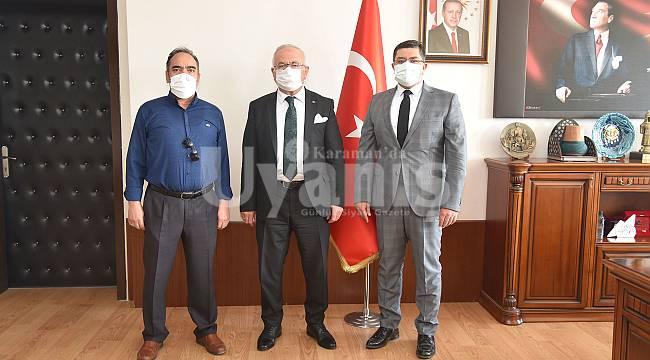 MHP ve Türk Eğitim-Sen'den Rektör Namık Ak'a ziyaret