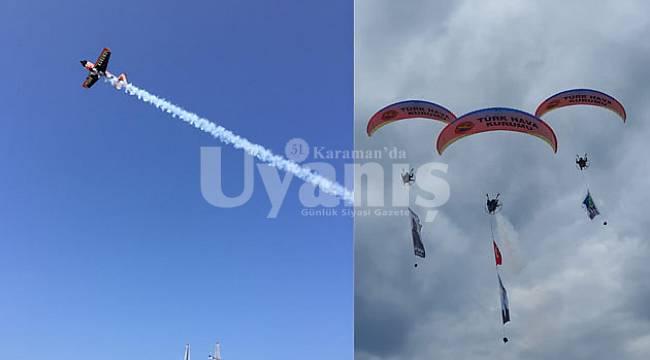Paramotor ve Model Uçak Akrobasi Gösteri Uçuşu Yapılacak