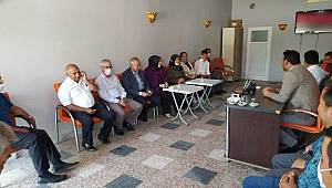 Şeker, Ayrancı'da ziyaret ve temaslarda bulundu