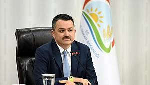 Tarım ve Orman Bakanı Pakdemirli 12 Temmuz'da Karaman'da
