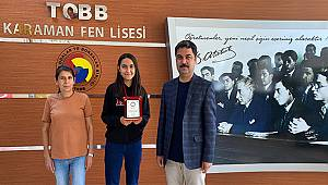 TOBB Fen Lisesi'nin YSK Başarısı