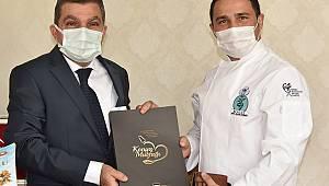 Türkiye Aşçılar Federasyonu Başkan Vekili Hamza Kalkan'dan Vali Işık'a Ziyaret