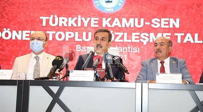 Türkiye Kamu-Sen Genel Başkanı Kahveci: Toplu Sözleşme Masasında Her Bir Talebimizin Tek Tek Takipçisi Olacağız