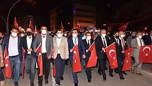 Vatan Sevdasıyla Atan Yürekler Aktekke 15 Temmuz Demokrasi Meydanında Buluştu