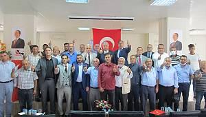 Yeniden Refah Partisi Sarıveliler İlçe Başkanlığına Fatih Özcan seçildi.