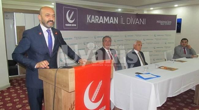 Yeniden Refah Partisi Temmuz Ayı İl Divan toplantısını yaptı