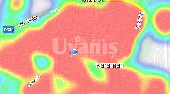Karaman'ın HES haritasında tüm mahalleler kızardı