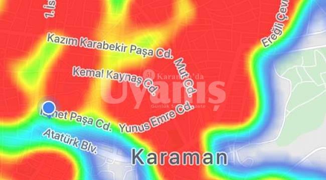 Karaman'ın Rengi Aşıya Rağmen, Risk Haritasında Gittikçe Kızarıyor