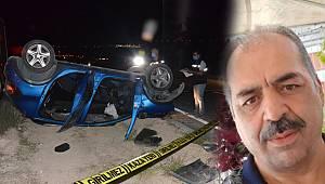 Köprüden Karayoluna Düşen Otomobilin Sürücüsü Hayatını Kaybetti