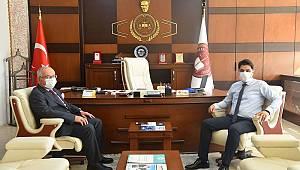 Rektör Namık Ak'tan adliye teşkilatına ziyaret