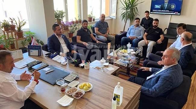 Şeker ve Eser Karaman'da ziyaret ve temaslarını sürdürüyor