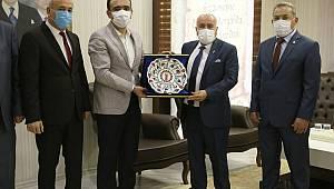 Ahilik Haftası Kutlama Heyeti'nden Başkan Kalaycı 'ya Ziyaret