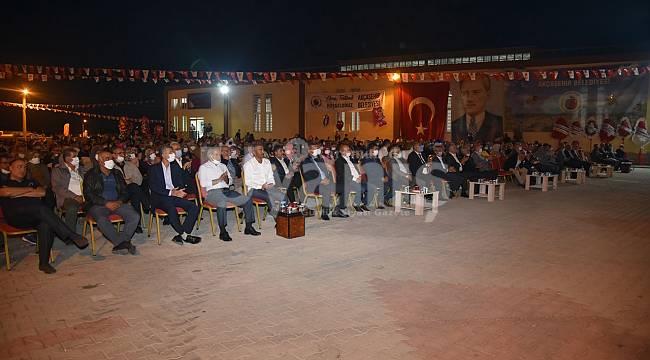 Akçaşehir'de Elma Festivali Sona Erdi