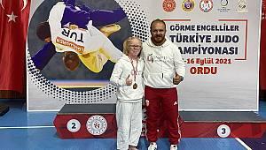 Cahide Eke'den Bir Türkiye Şampiyonluğu Başarısı Daha