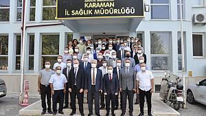 Dr. Musa Şahin Karaman'a veda etti