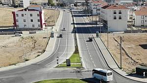Karaman Belediyesi'nden Yol Çizgisi ve Yaya Geçidi Çalışması