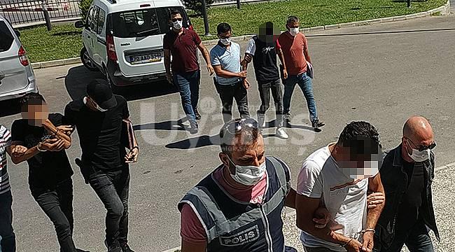 Karaman'da 8 ayrı hırsızlık olayına karışan 3 şüpheli tutuklandı