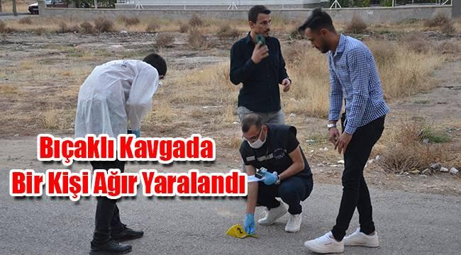 Karaman'da bıçaklı kavgada bir kişi ağır yaralandı