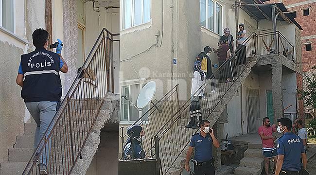 Karaman'da çıkan silahlı çatışmada balkonda uyuyan yaşlı kadın vuruldu