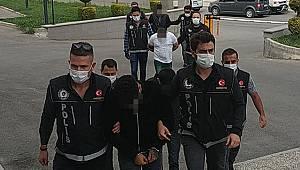 Karaman'da uyuşturucu operasyonu 4 şüpheli adliyeye sevk edildi