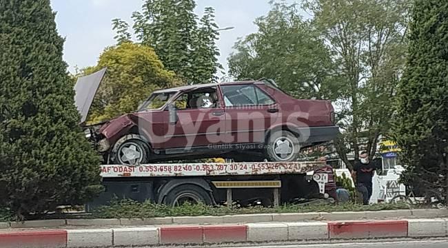 Karaman'daki trafik kazasından üç kadın yaralandı