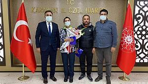 Karaman Özel İdare Spor Kulübü bir başarıya daha imza attı