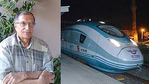 Karamanlı Halk Ozanı Nevzat Dağlı'nın hızlı tren şiiri büyük beğeni topladı