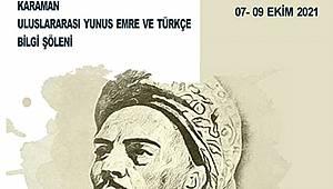 KMÜ, Karaman Uluslararası Yunus Emre Ve Türkçe Bilgi Şölenine Hazırlanıyor
