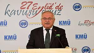KMÜ Rektörü Ak'ın Belediye Meclis Üyelerine Sarf ettiği Sözler Tepki Çekti