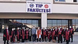 KMÜ Tıp Fakültesi Kapılarını Öğrencilerine Açtı