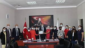 Sağlık Bakanlığı'ndan Karaman Eğitim Ve Araştırma Hastanesine Teşekkür Belgesi