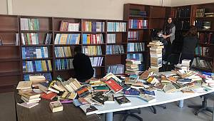 Tahsin Ünal Kütüphanesi'nde Sona Gelindi