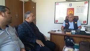 Yeniden Refah Partisi'nden İtfaiye Müdürlüğüne ziyaret