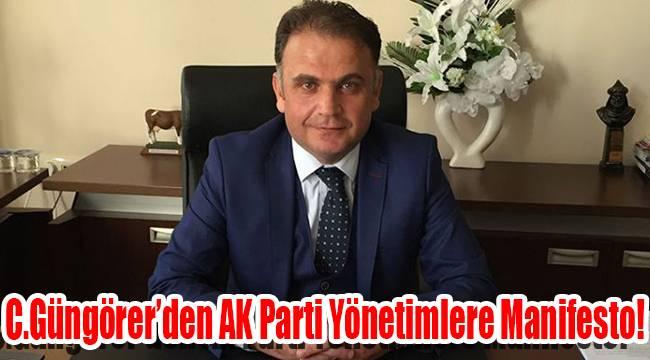 C.Güngörer'den AK Parti Yönetimlere Manifesto!